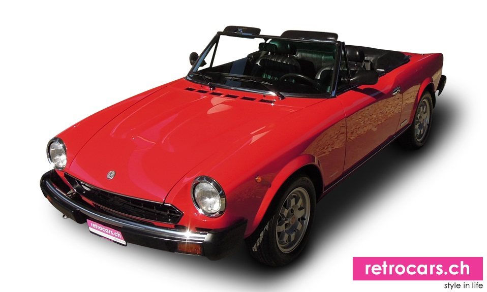 fiat 124 ds pininfarina spider oldtimer 1983 retrocars. Black Bedroom Furniture Sets. Home Design Ideas