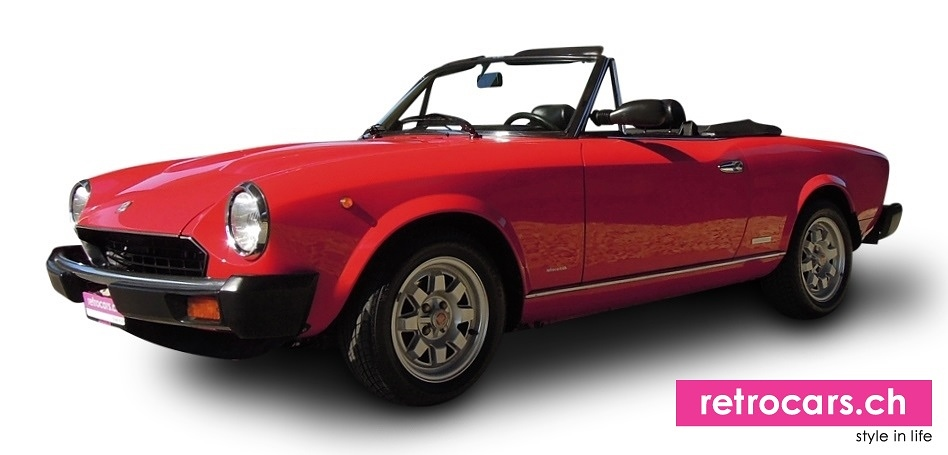 fiat 124 ds pininfarina spider oldtimer. Black Bedroom Furniture Sets. Home Design Ideas