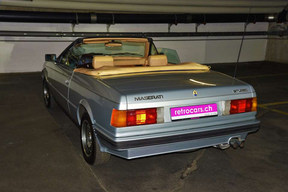 retrocars.ch Maserati Biturbo Spyder 2.5 Oldtimer ...