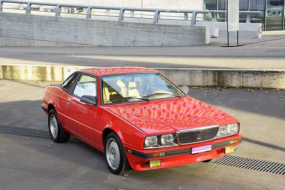 Maserati Karif 2.8 V6 Biturbo Youngtimer / Oldtimer – 1988 ...