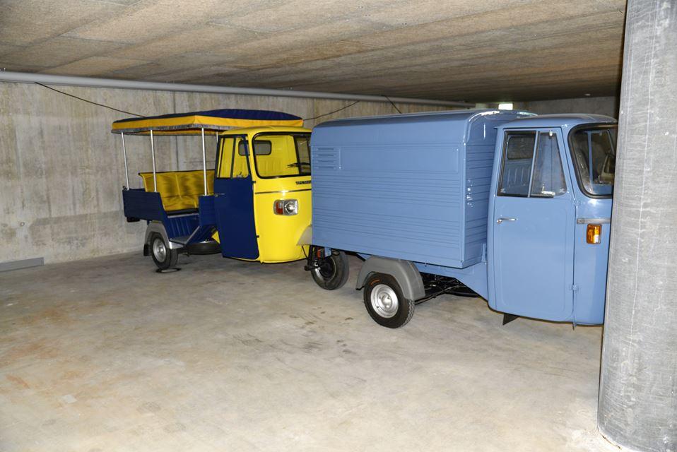 Retrocarsch Piaggio Ape P501 Kasten Retrocars