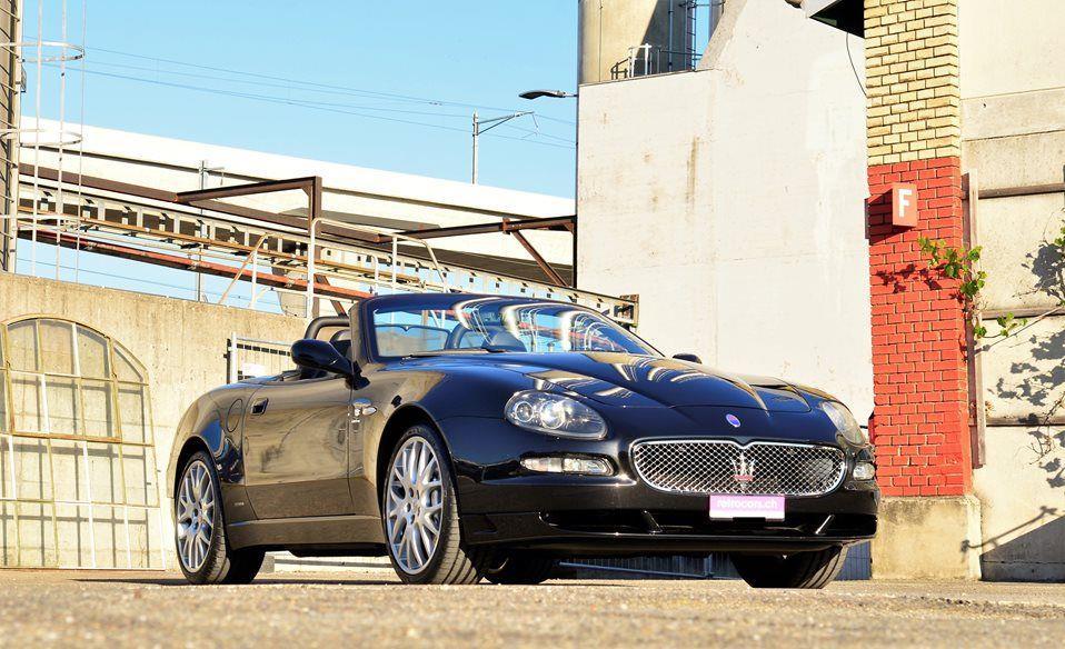retrocars.ch Maserati Gransport Spyder- retrocars